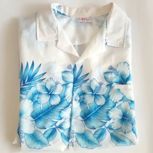 💎HOST PICK💎4X Mens Blue Hawaiian Plus Size 4X